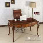 میز تحریر معرق MK336 , میز تحریر,میز تحریر کلاسیک,میز تحریر معرق,میز تحریر چوبی,میز,معرق,تحریر,میز کار کلاسیک,میز کار معرق