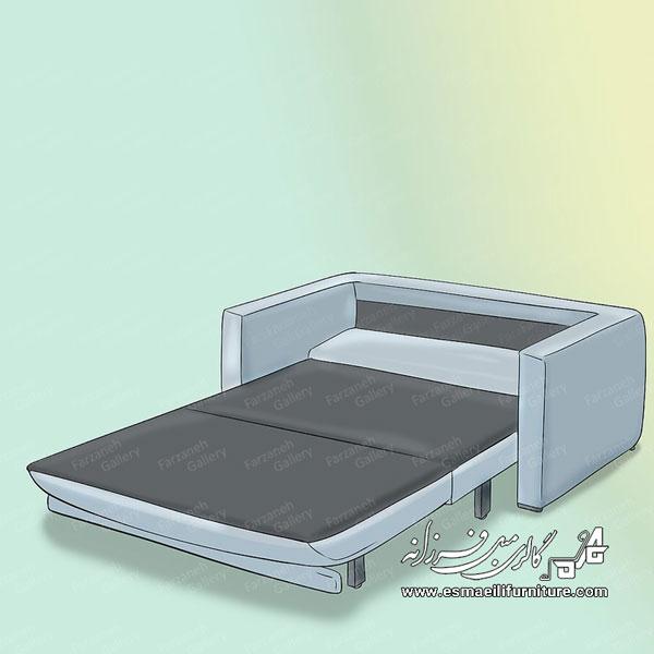 چگونه یک مبل تختخواب شو انتخاب کنیم؟ - تصویر ۳